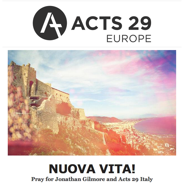 Acts 29 Europe